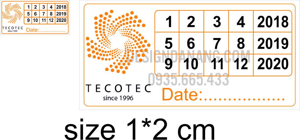 tem bảo hành TECOTEC ĐÀ NẴNG
