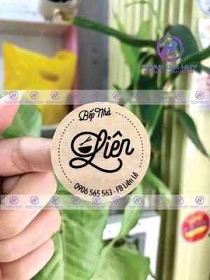 IN decal giấy kraft, decal da bò tại Đà Nẵng giá rẻ