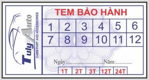 In tem bảo hành dán phụ kiện tại Đà Nẵng giá rẻ