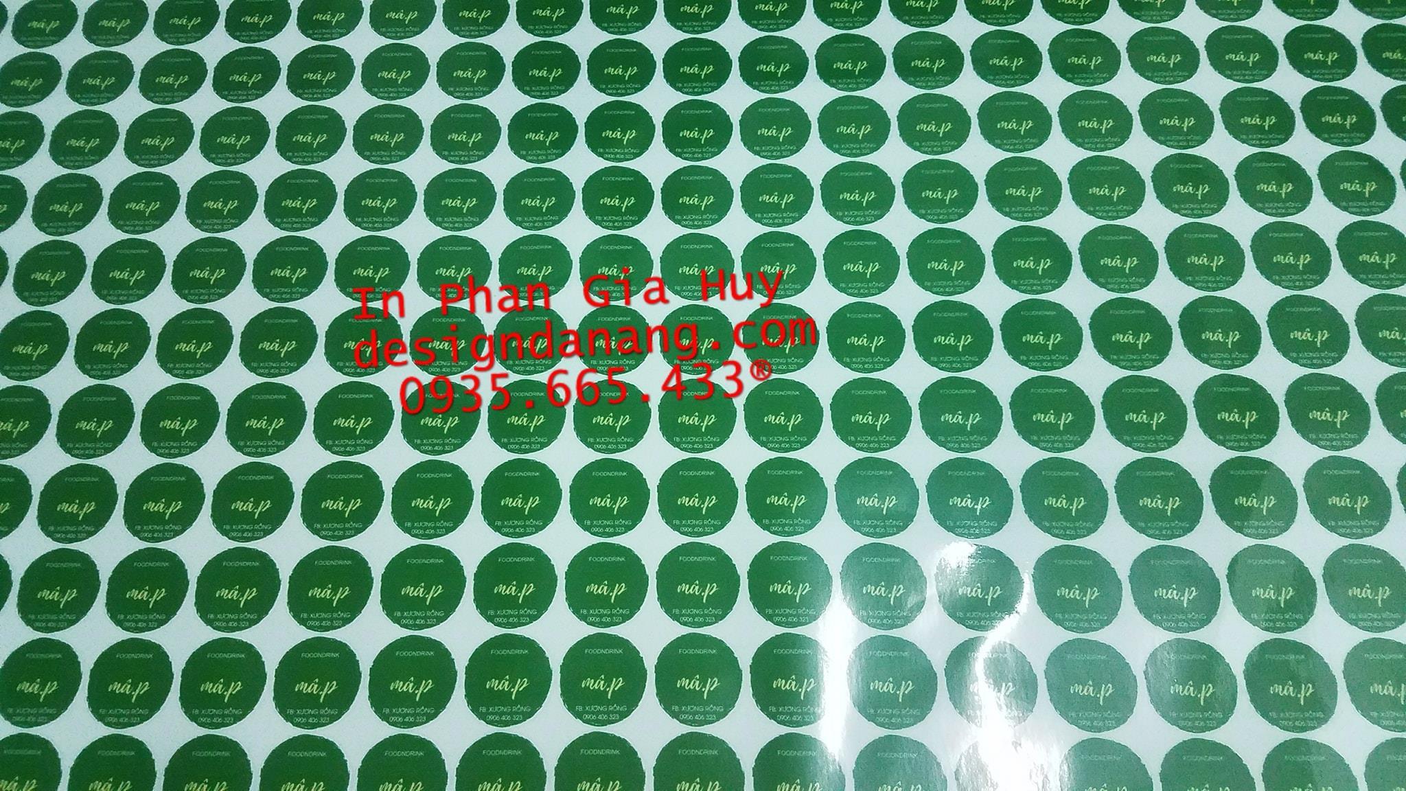 in tem dán ly trà sữa tại Đà Nẵng giá rẻ