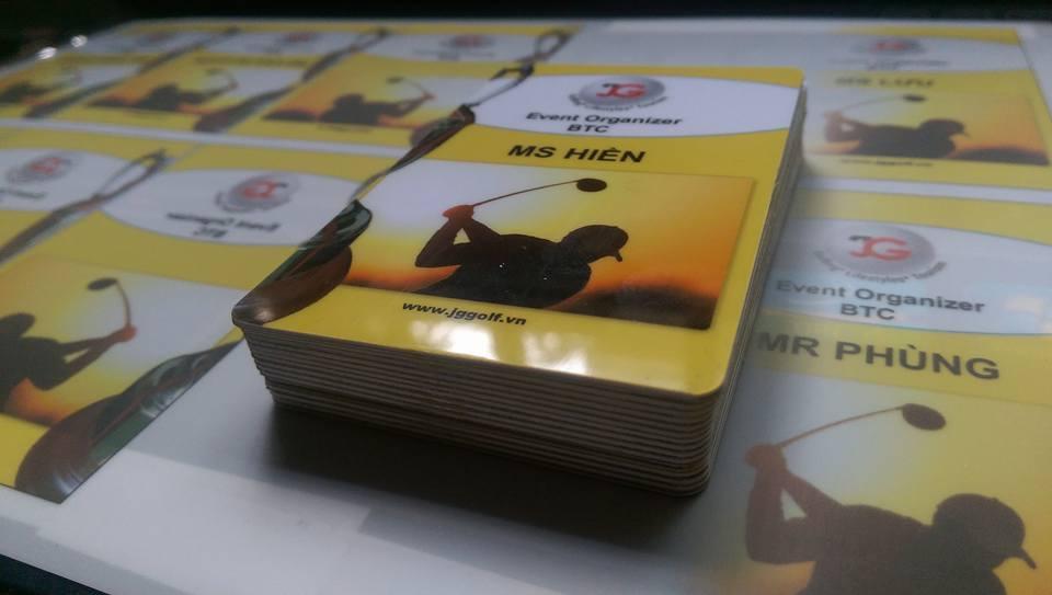 In thẻ nhựa golf Đà Nẵng
