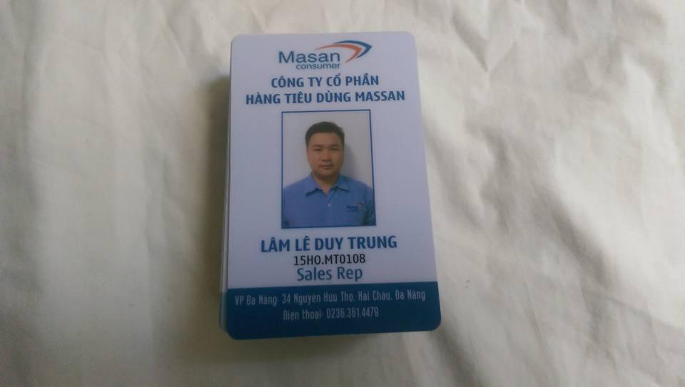 In thẻ nhựa PVC Masan tại Đà Nẵng