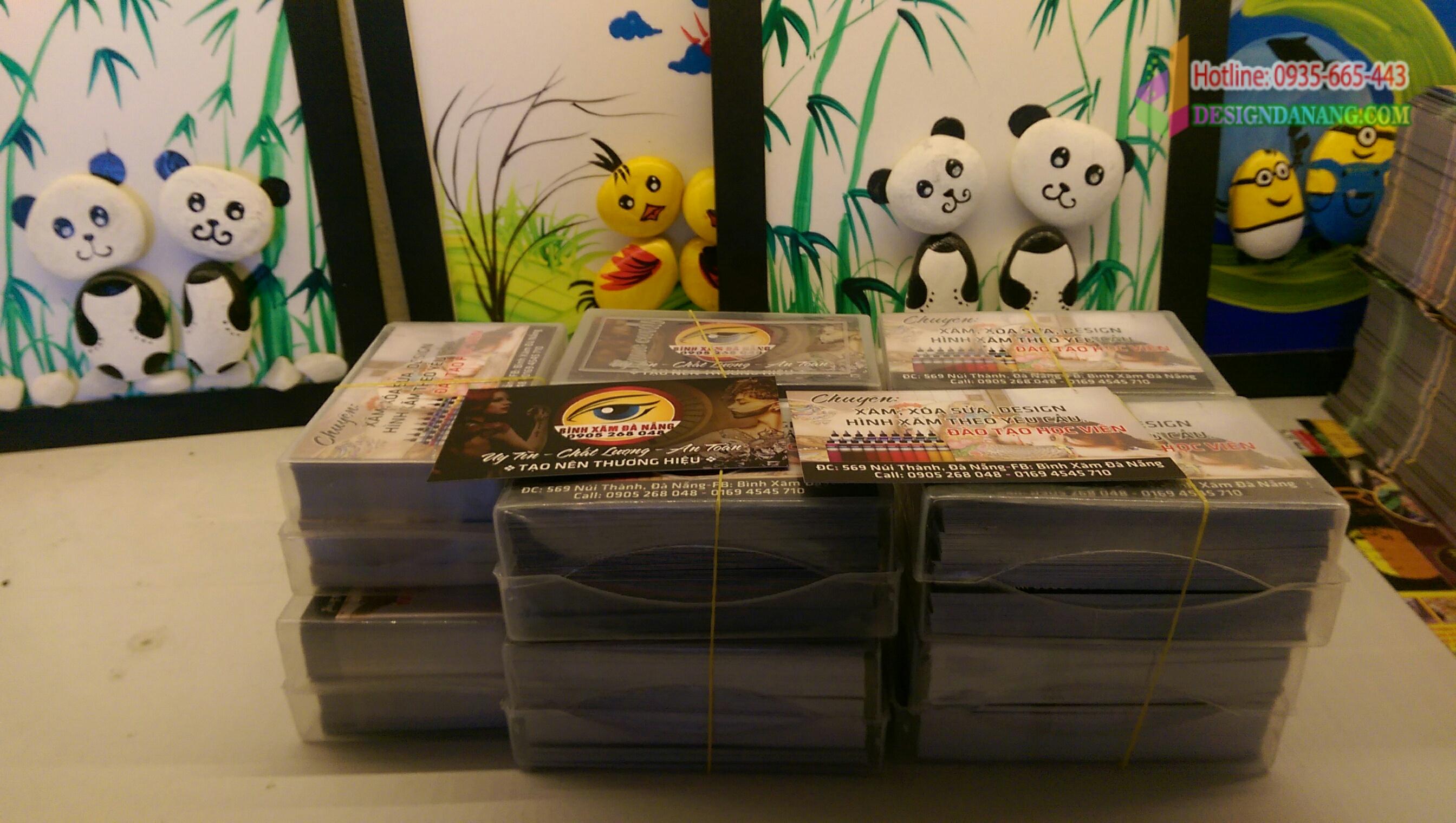 Card visit nghệ thuật xăm hình Đà Nẵng