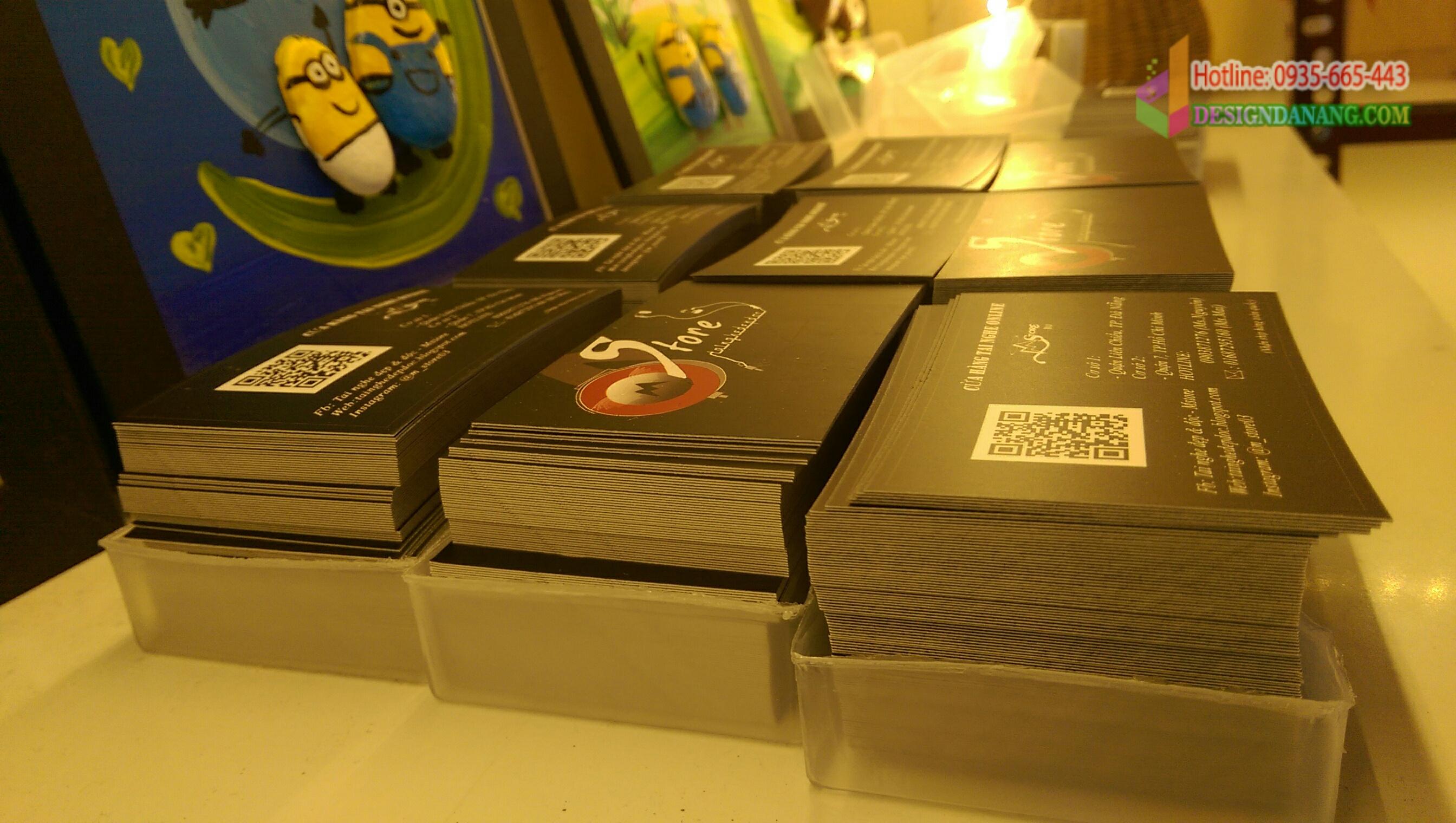 Name card shop tai nghe tại Đà Nẵng
